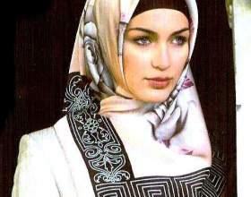 Как повязать хиджаб фото