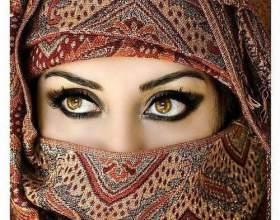 Как повязать платок на голову мусульманке фото
