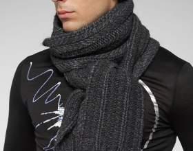 Как повязать шарф мужчине фото