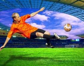 Как правильно бить по мячу в футболе фото