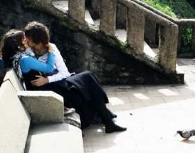 Как правильно целоваться с парнем фото