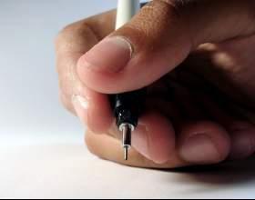 Как правильно держать ручку фото