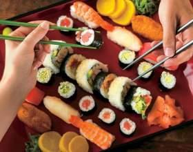 Как правильно есть суши фото
