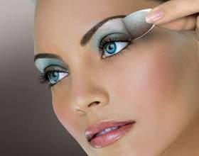 Как правильно использовать голубые тени для голубых глаз фото