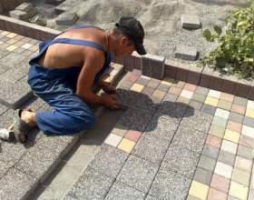 Как правильно класть тротуарную плитку фото
