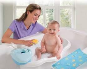 Как правильно купать малыша фото