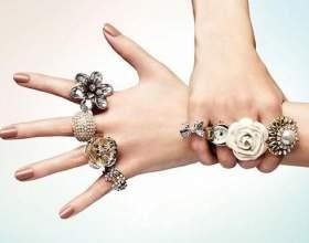 Как правильно носить кольца фото