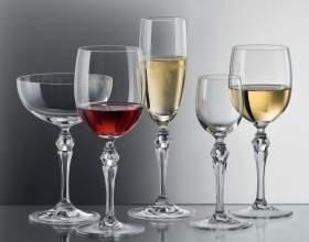 Как правильно подбирать бокалы для напитков фото