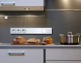 Как правильно разместить розетки на кухне фото
