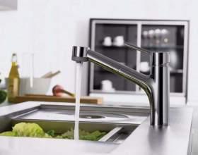 Как правильно установить смеситель на кухне фото