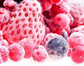Как правильно замораживать ягоды, овощи и фрукты на зиму фото