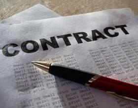Как прервать контракт фото
