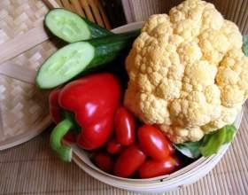 Как приготовить диетический салат из цветной капусты фото