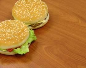 Как приготовить гамбургер дома фото