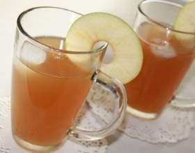 Как приготовить яблочный квас фото
