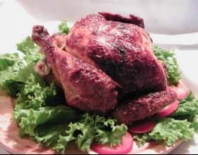 Как приготовить курицу на вертеле фото