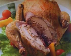 Как приготовить курицу в яблоках фото