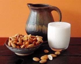 Как приготовить молоко из орехов фото