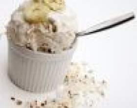 Как приготовить мороженое с бананом и орехами фото