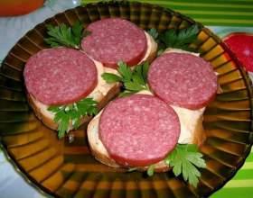 Как приготовить несложные и недорогие бутерброды фото