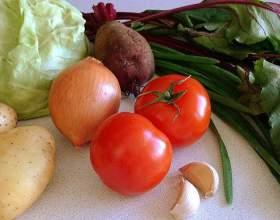 Как приготовить овощной суп со свекольными листьями фото