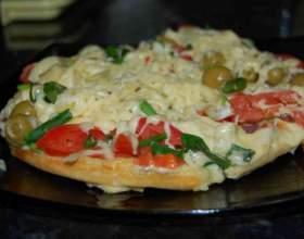 Как приготовить пиццу «минутка» фото