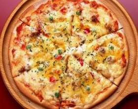 Как приготовить пиццу по-домашнему на кефире? фото