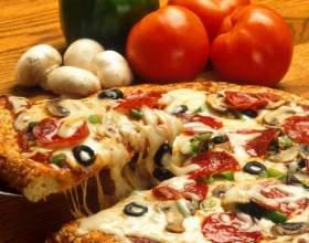 Как приготовить пиццу с базиликом, чесноком и сыром фото
