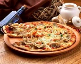 Как приготовить пиццу с грибами и шпинатом фото