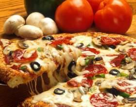 Как приготовить пиццу с шомпиньонами фото
