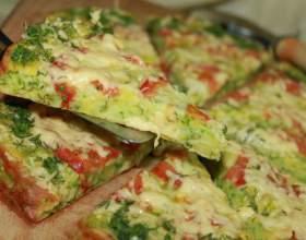 Как приготовить пиццу в кабачке фото