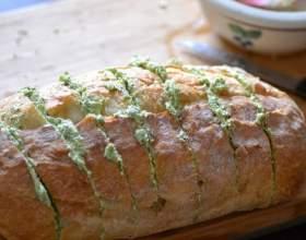 Как приготовить пикантный хлеб фото