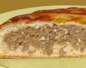Как приготовить пирог с мясом на дрожжевом тесте фото