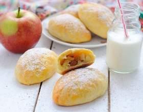 Как приготовить пирожки с фруктовой начинкой фото