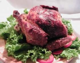 Как приготовить праздничную курицу фото