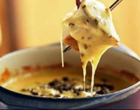 Как приготовить простое сырное фондю фото