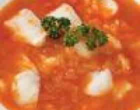 Как приготовить рыбный суп с рисом фото