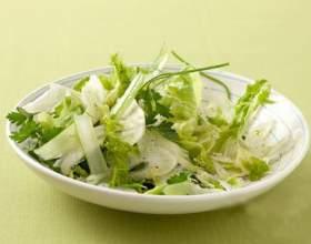 Как приготовить салат из фенхеля и сельдерея фото