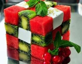 Как приготовить съедобный кубик рубика фото