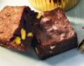 Как приготовить шоколадные брауни с фисташками фото