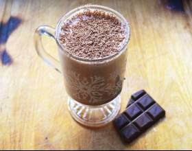 Как приготовить шоколадный эгг-ног фото