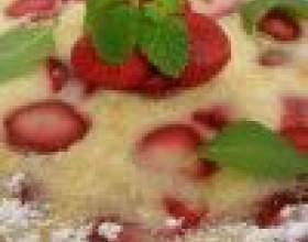 Как приготовить сладкий пирог на скорую руку фото