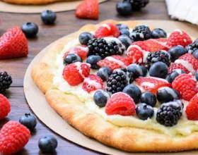 Как приготовить сладкую пиццу с рикоттой фото