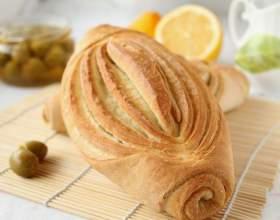 Как приготовить слоеный хлеб фото
