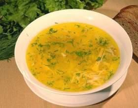 Как приготовить суп с курицей фото