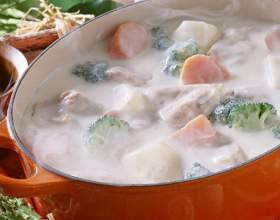 Как приготовить сырный суп-пюре фото