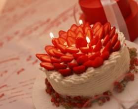 Как приготовить торт из клубники фото