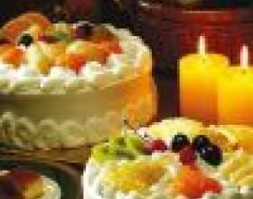 Как приготовить торт с кремом и фруктами фото