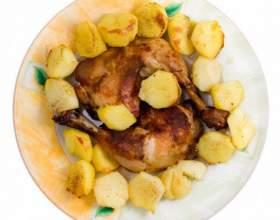 Как приготовить утку с картошкой в духовке фото