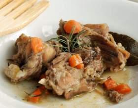 Как приготовить в маринаде мясо кролика фото